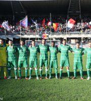 Samb-Albinoleffe 1-1, per la prima volta con la maglia verde