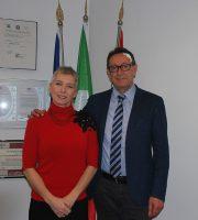 Irene Pivetti con Pasqualino Piunti