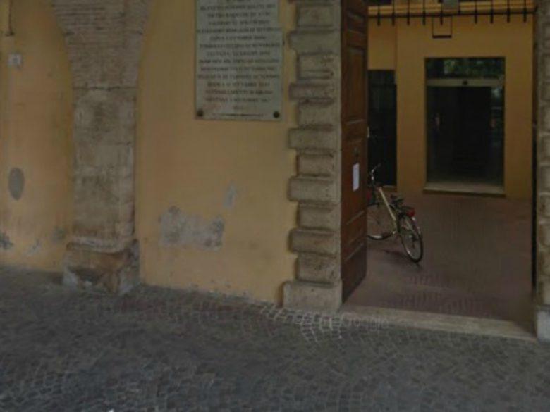 Municipio di Teramo (foto Google Earth)