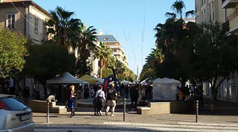 20 novembre 2016, mercatino in viale Secondo Moretti