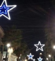 Luminarie accese in centro a San Benedetto