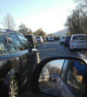 Traffico bloccato sull'Ascoli-Mare, 11 dicembre (foto di Letizia Rosati)