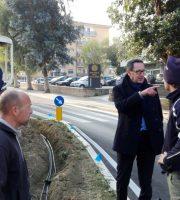 Sopralluogo del sindaco Pasqualino Piunti
