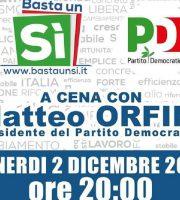 Matteo Orfini chiude la campagna referendaria del Pd sambenedettese