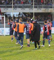 Samb-Modena 1-1, fine partita