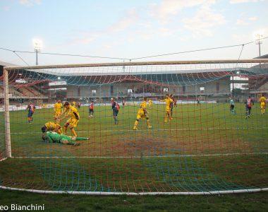Samb-Modena 1-1, il rigore fallito da Mancuso