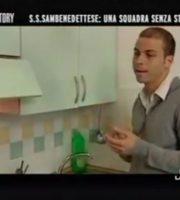 """Sirignano durante la puntata del programma """"Victory"""""""
