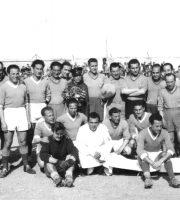 Anni 50, una foto della Samb qualche anno prima della promozione in serie B