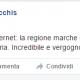 De Vecchis sulla sua pagina facebook