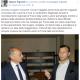 Il post su Facebook di Valerio Pignotti