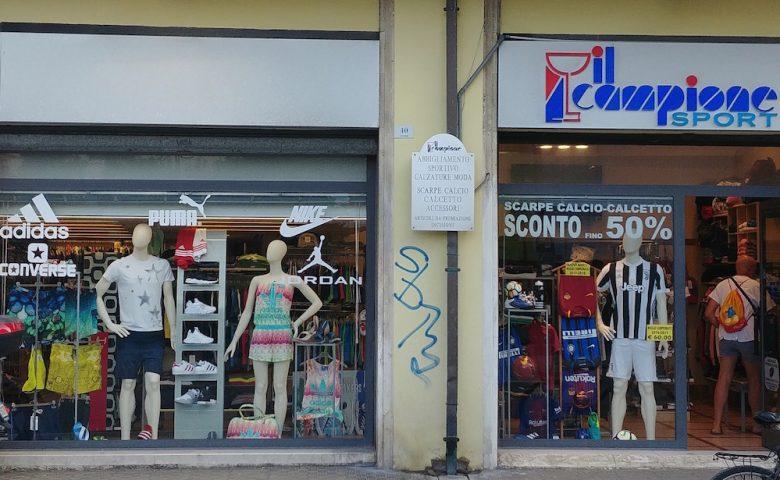 Il Campione Sport Shop on line   Sconti fino 50% Moda