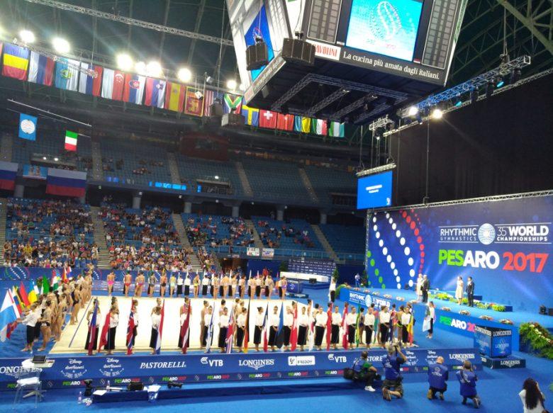 Mondiali di ginnastica ritmica di Pesaro: oro per le Farfalle azzurre