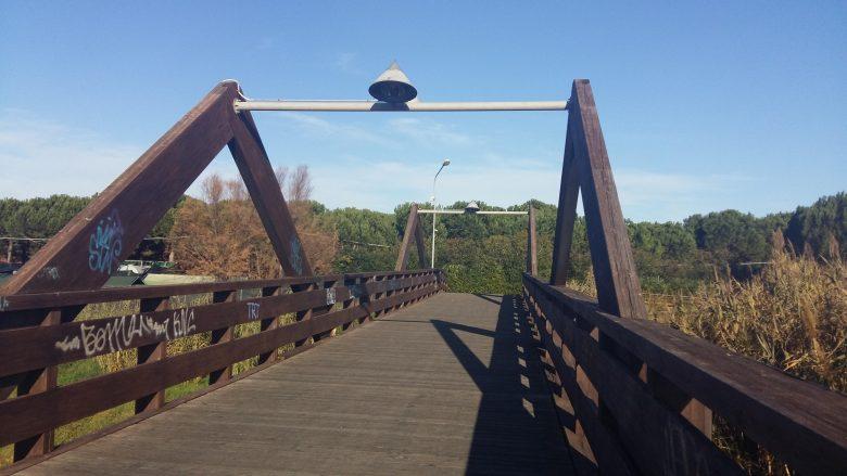 Ponte Del Legno.Tortoreto Terminati I Lavori Sul Ponte Di Legno Del