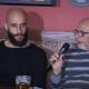 Conson insieme al direttore di Riviera Oggi Nazzareno Perotti