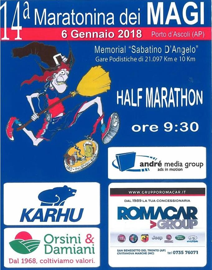 Maratonina dei Magi- Locandina