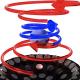 Rappresentazione dei vortici ultrasonici che sostengono l'oggetto centrale