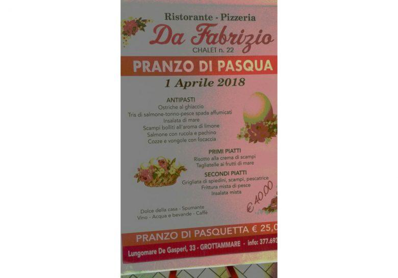 Il Ristorante Pizzeria Da Fabrizio Ti Aspetta Per Il Pranzo Di