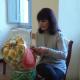 Tiziana Marchionni e il suo tombolo