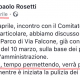 Il post di Rosetti