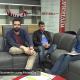 In studio Pier Paolo Flammini, Carlo Fazzini, Giuseppe Marzetti e Walter Del Gatto