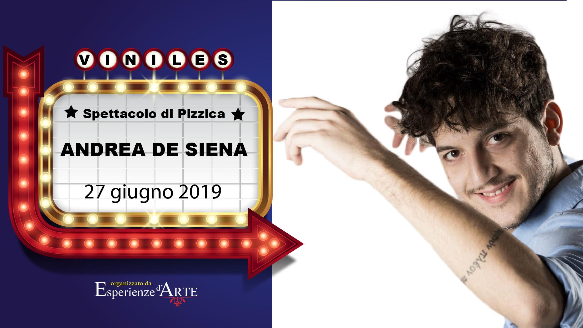Calendario Pizzica.Esperienze D Arte Andrea De Siena Porta La Pizzica A San