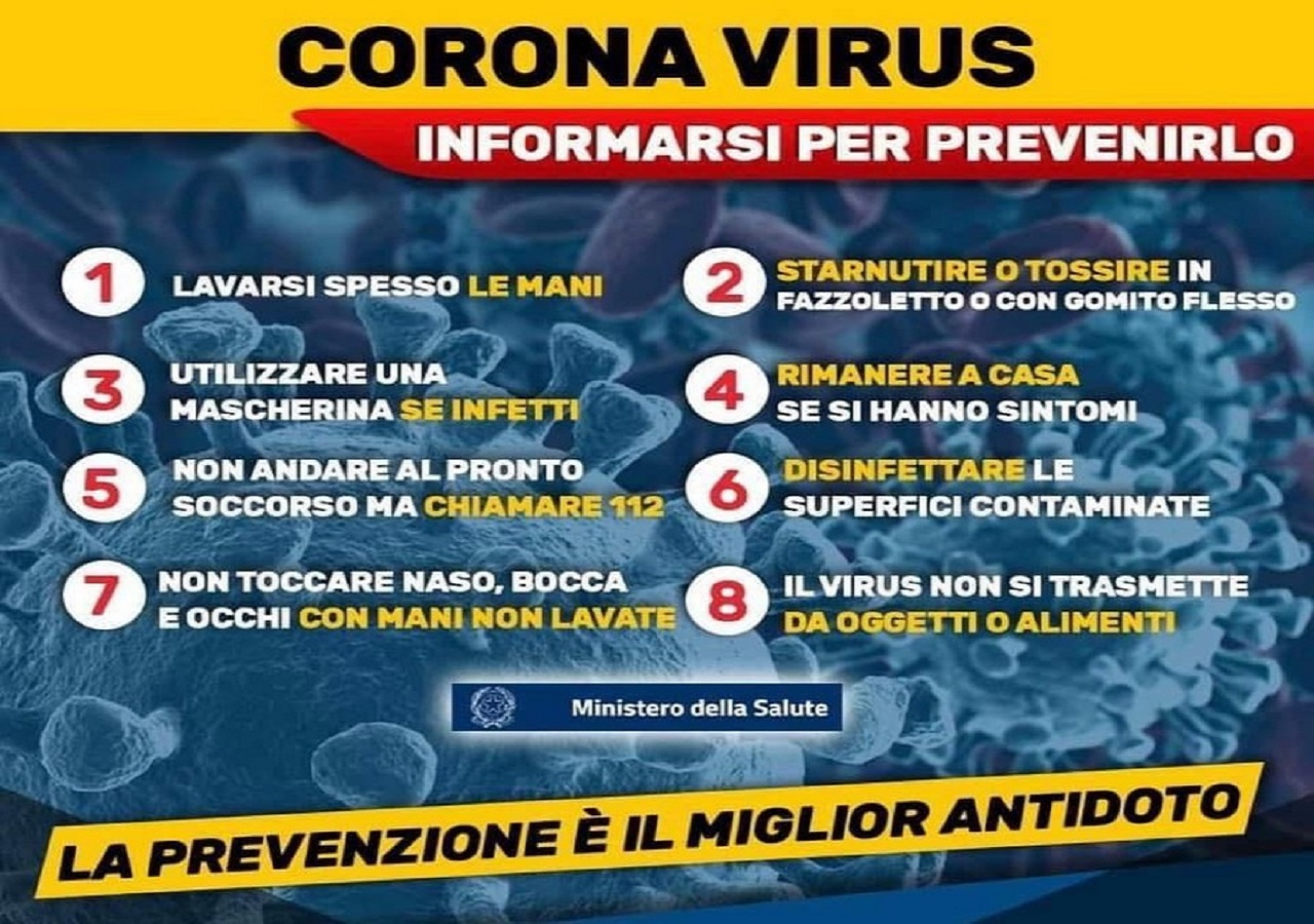 """Coronavirus, comunicato Protezione Civile Marche: """"Nessun caso in ..."""