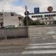 Coronavirus, 23 marzo, parcheggio sopraelevato in viale De Gasperi