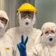 Coronavirus, operatori sanitari all'ospedale di San Benedetto