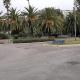 Coronavirus, rotatoria viale De Gasperi sullo sfondo il Municipio 23 marzo