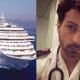 La Costa Fortuna e Carlo Alberto Cocchieri, infermiere dell'equipaggio