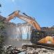 Ex Scuola Curzi, lavori di demolizione