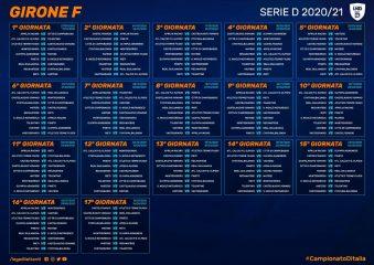 Calendario Serie D, Girone F: alla prima derby Pineto San Nicolò
