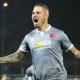 Umberto Eusepi, due gol in avvio in Alessandria-Samb (foto Fb Alessandria Calcio)