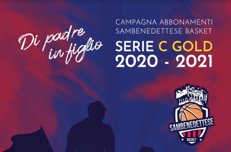 Campagna abbonamenti Sambenedettese Basket
