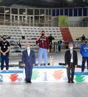 Carlo Macchini sul podio