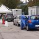 Drive in tamponi all'ospedale Mazzoni di Ascoli