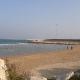 La cassa di colmata al porto di San Benedetto, novembre 2020, e la spiaggia libera