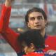 Daniele Morante alla Samb abbracciato da Davide Desideri dopo un gol