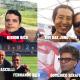 Kishor Rico, Fernando Rico, Kim Dae Jung, Domenico Serafino, Pedro Pasculli