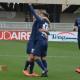 Samb-Arezzo, Botta dopo il gol, foto chiappani