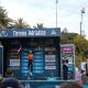 Wout van Aert (Jumbo-Visma) sul podio della Tirreno Adriatico. 16 marzo 2021