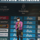 Wout van Aert (Jumbo-Visma), maglia ciclamino alla Tirreno Adriatico. 16 marzo 2021