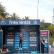 Wout van Aert (Jumbo-Visma), vincitore della tappa della Tirreno Adriatico a San Benedetto. 16 marzo 2021