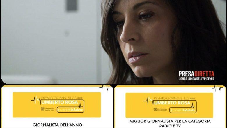 """Daniela Cipolloni (foto dal profilo Facebook di """"PresaDiretta"""")"""