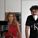 Vera Castagna con il regista Giuseppe Di Giorgio