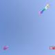 Per la riapertura del lungomare sono stati fatti volare gli aquiloni dall'appassionato Massimo Giobbi