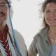 Raffaella Milandri e Cedric Black eagle